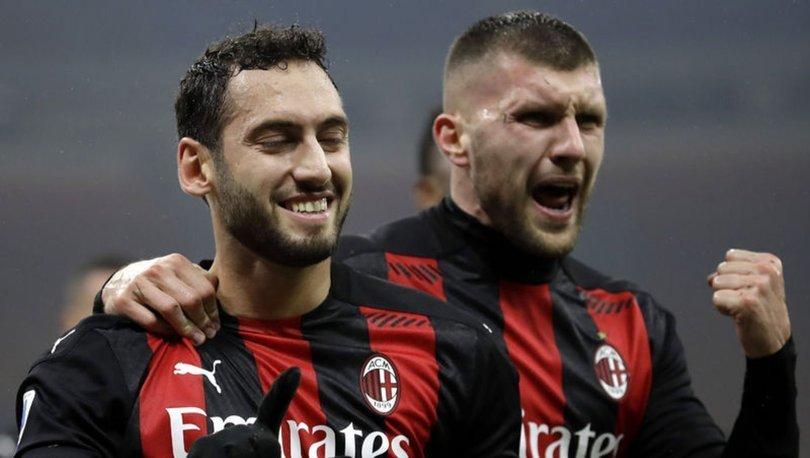 Hakan Çalhanoğlu, Milan'ı yenilmezliğe taşıdı!