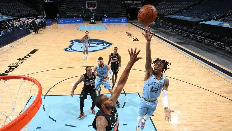 NBA'de Morant'in 44 sayısı Grizzlies'e yetmedi