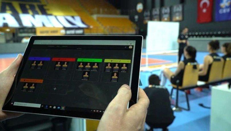 VakıfBank, antrenmanlarda ve maçlarda yeni bir sistem kullanmaya başladı