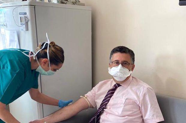 Aşı gönüllüsü profesörden açıklama: İnanamıyorum