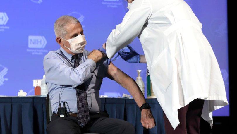 ABD'li Dr. Fauci'den sürü bağışıklığı için aşılama oranı tahmini