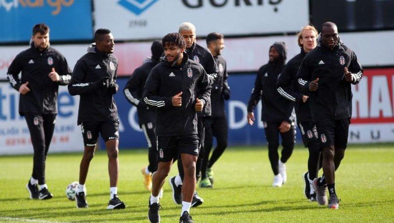 Beşiktaş, Demir Grup Sivasspor maçı hazırlıklarına başladı
