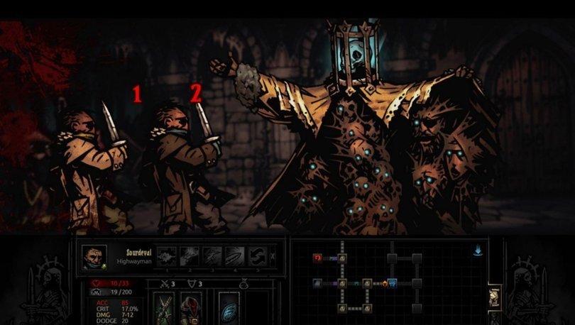 Epic Games'in yeni ücretsiz oyunu: Darkest Dungeon