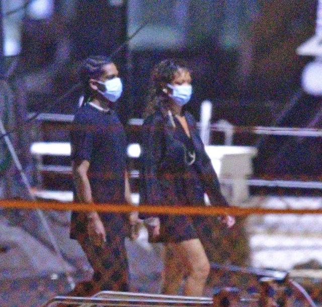 SON DAKİKA: Rihanna ile ASAP Rocky el ele! İşte o fotoğraf