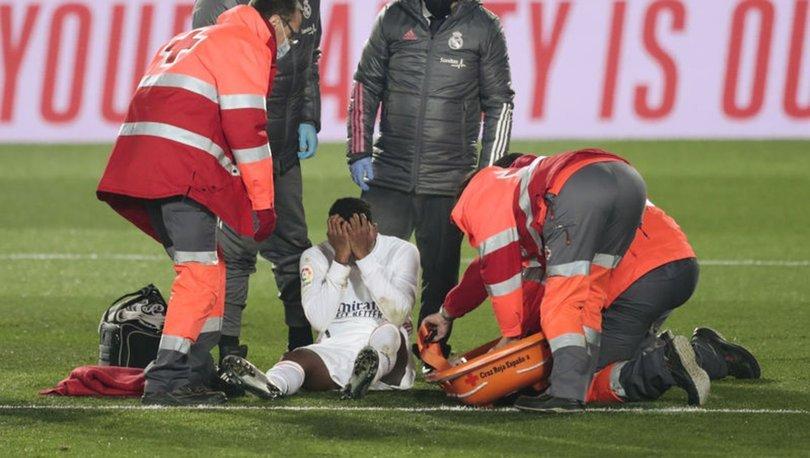 Real Madridli futbolcu Rodrygo'nun sakatlığı ciddi