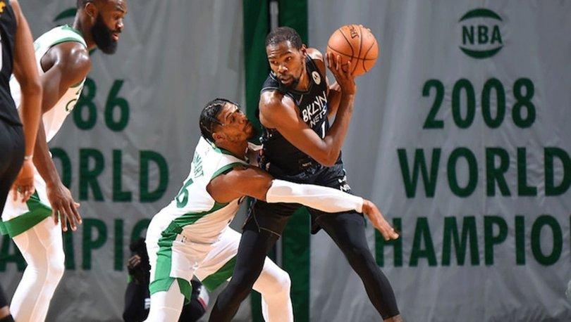NBA'de Nets, Celtics deplasmanından galip ayrıldı