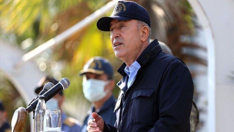 AKAR'DAN ÖNEMLİ AÇIKLAMA! Son dakika... Libya'da Akar'dan flaş mesaj! - Haberler