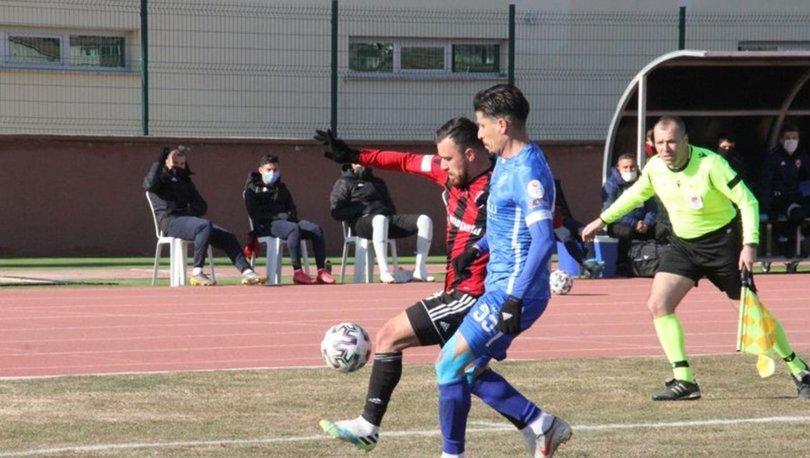 24Erzincanspor'dan 6 gollü galibiyet