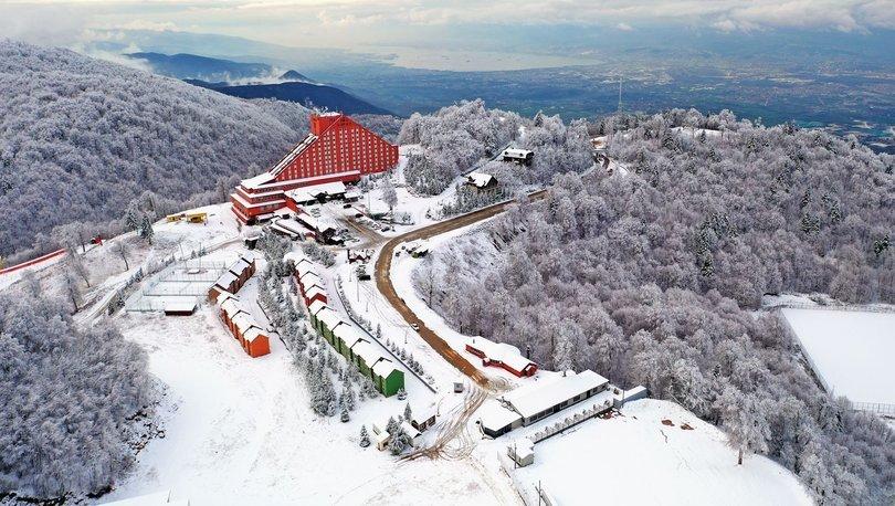 Turizm merkezi Kartepe kış sezonunda ziyaretçilerini ağırlamaya hazır