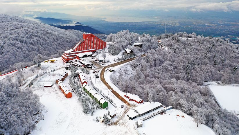 Kartepe kış turizmine hazır