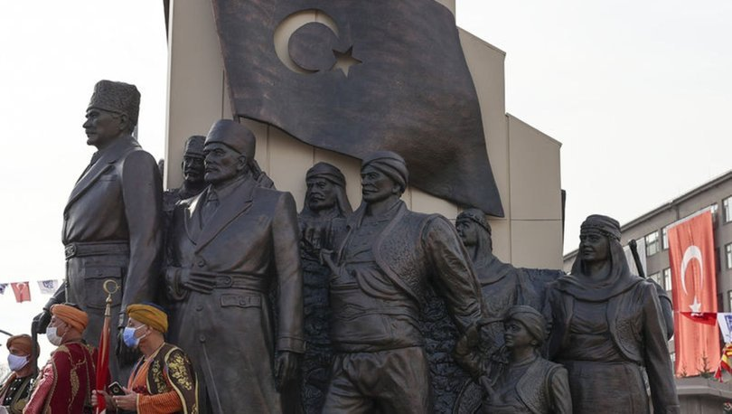 '27 Aralık Kızılca Gün Anıtı' Ankara'da açıldı