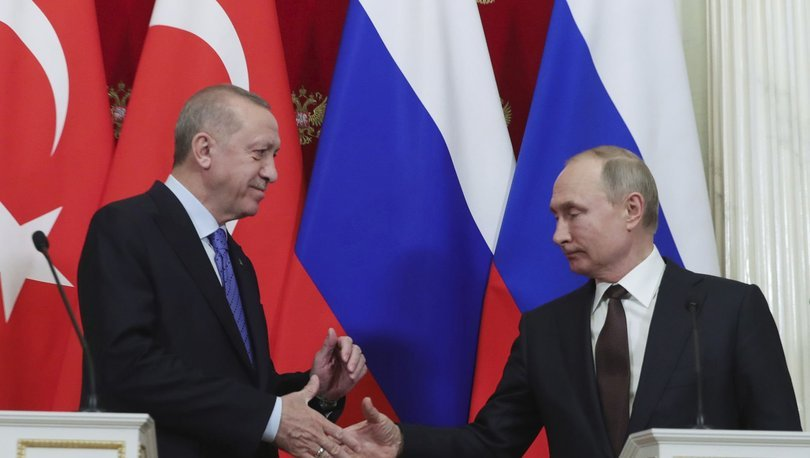 SON DAKİKA: Kremlin'den Cumhurbaşkanı Erdoğan ve Rusya Devlet Başkanı Putin açıklaması! - Haberler