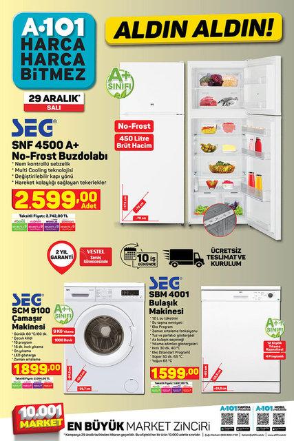 A101 BİM aktüel ürünler kataloğu! 29 Aralık A101 BİM aktüel ürünler kataloğu! İşte tam liste