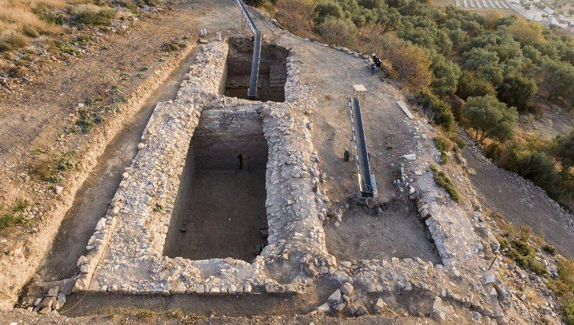 Metropolis Antik Kenti kazılarında birbiriyle bağlantılı 4 sarnıç bulundu