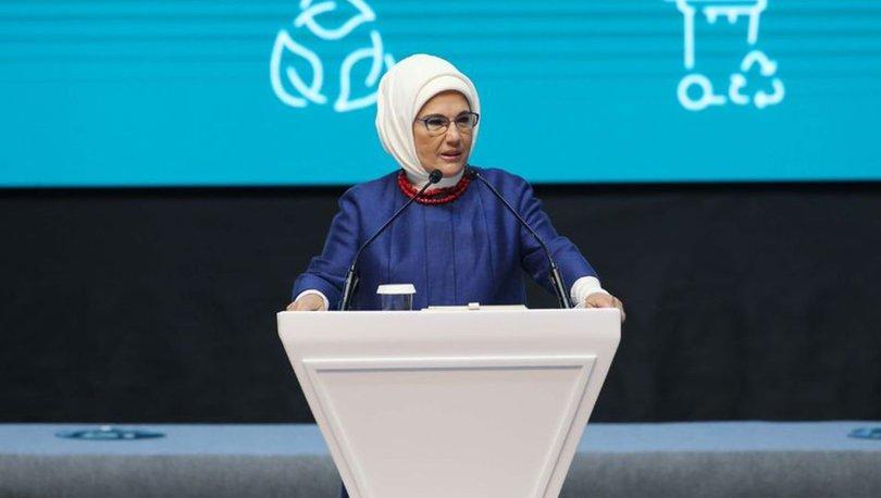 Son dakika! Emine Erdoğan'dan iklim krizi çıkışı! 2030 Yolu Sürdürülebilirlik Webinarına katıldı