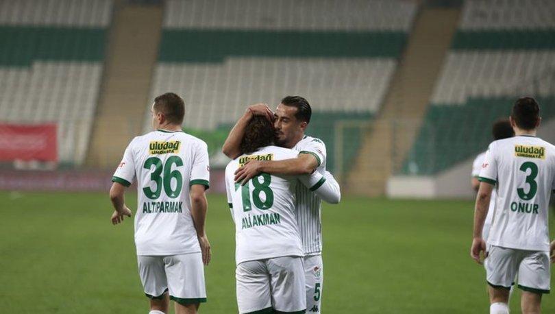 Bursaspor: 2 - Eskişehirspor: 1   MAÇ SONUCU