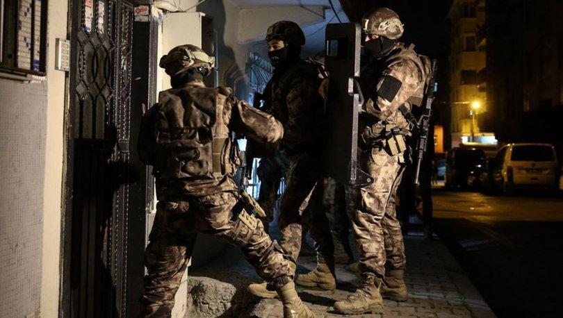 İstanbul'da terör örgütü PKK'ya yönelik operasyon: 4 gözaltı