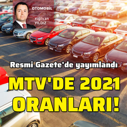 MTV 2021 LİSTESİ   SON DAKİKA: 2021 MTV (Motorlu Taşıtlar Vergisi) açıklandı!