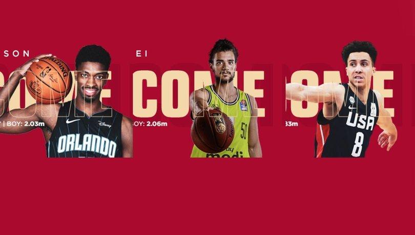 Galatasaray Erkek Basketbol Takımı'nda 3 transfer