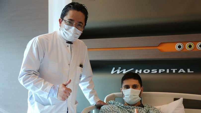 Kasımpaşalı futbolcu Tarkan Serbest ameliyat edildi