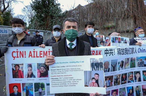 Uygur Türkleri'nden eylem
