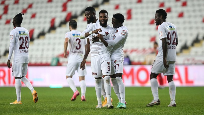 Antalyaspor: 0 - Hatayspor: 5 MAÇ SONUCU