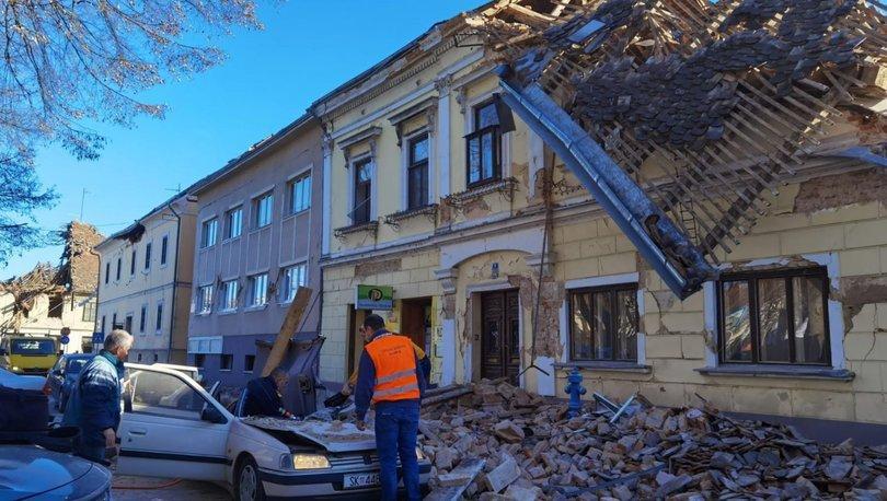 SON DAKİKA HABERİ: Hırvatistan'da 6,3 büyüklüğünde deprem!