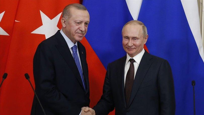 Putin'den Cumhurbaşkanı Erdoğan'a yılbaşı tebriği
