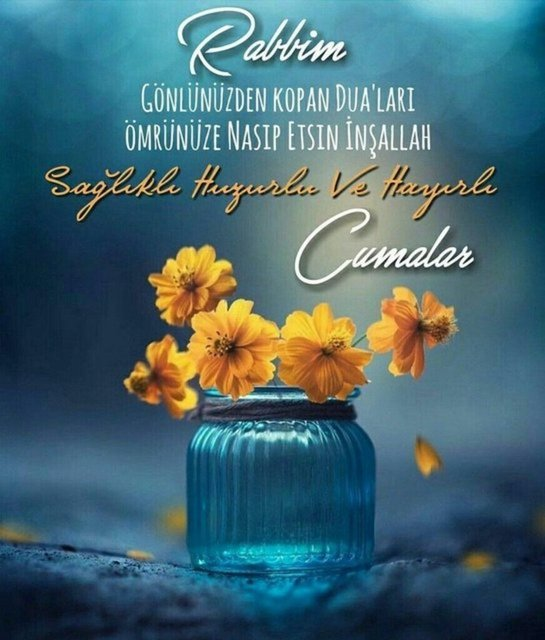 En güzel Cuma mesajları 2021 - Resimli, Dualı, ayetli, hadisli Cuma mesajı ve sözleri