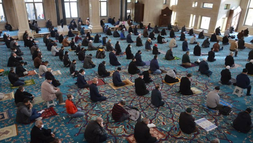 İçişleri Bakanlığı'ndan cuma namazı açıklaması - Haberler