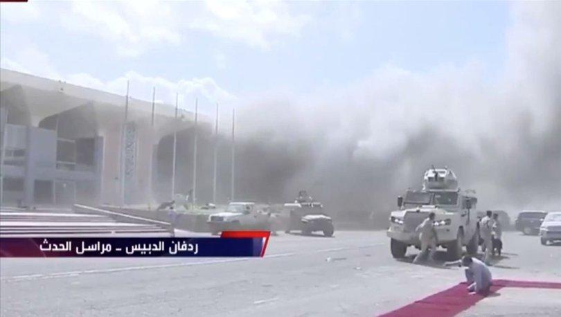 Aden Havalimanı'ndaki patlamalarda ölü sayısı 25'e yükseldi