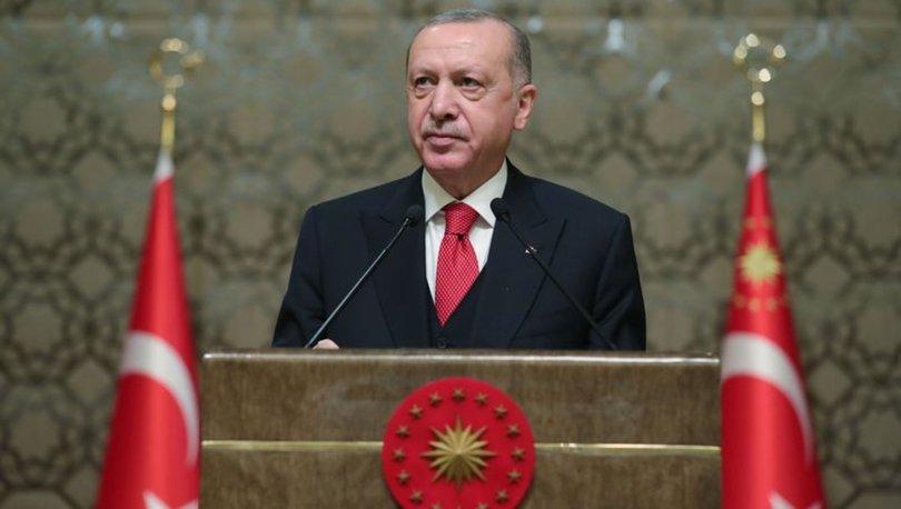 Cumhurbaşkanı Erdoğan'dan son dakika yılbaşı mesajı