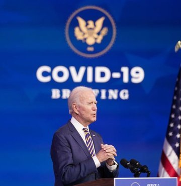 ABD başkanlığına seçilen Demokrat Partili Joe Biden, Güney Kıbrıs Rum Yönetimi (GKRY) lideri Nikos Anastasiadis ve Rum hükümeti ile çalışmayı sabırsızlıkla beklediğini ifade etti.