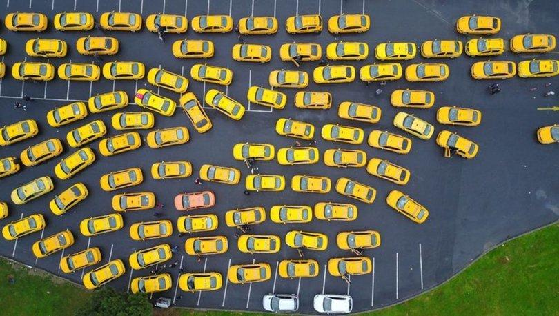 SARI İSTİLA! Son dakika: Taksiler Yenikapı'da kuyruğa girdi