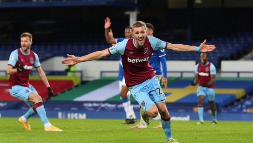 Everton: 0 - West Ham: 1 MAÇ SONUCU