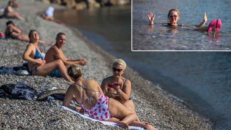 KIŞ ORTASINDA YAZ! Son dakika... Antalya'da sıcaklık 20'ye ulaştı! Sahile koştular! - Haberler