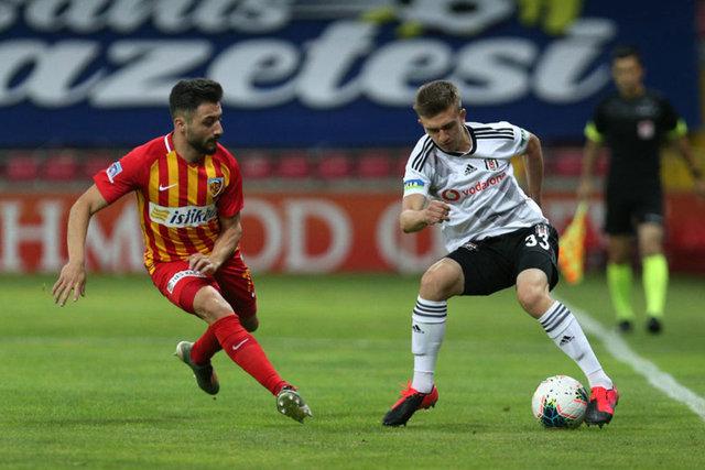 SON DAKİKA! Beşiktaş'ın Kayserispor maçı muhtemel 11'i