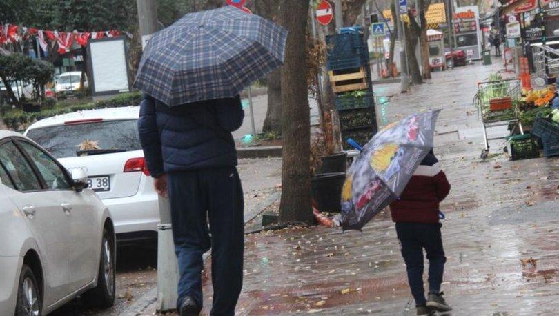 Yurdun batı kesimleri bugünden itibaren yağışlı havanın etkisine giriyor