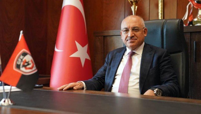Gaziantep FK Başkanı Mehmet Büyükekşi'den hakem tepkisi
