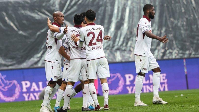Fatih Karagümrük: 1 - Trabzonspor: 2 MAÇ SONUCU