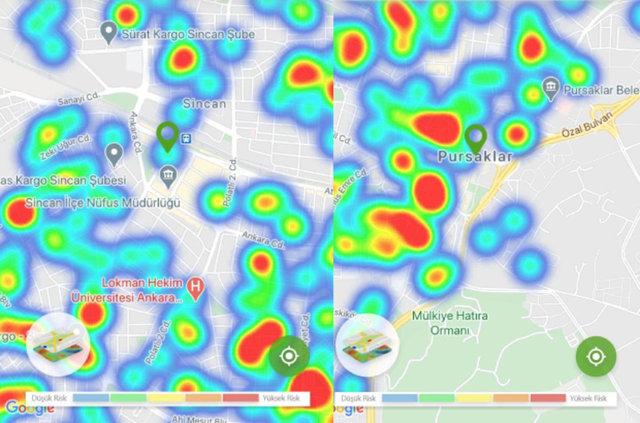 MÜJDE! Son dakika: Ankara korona haritası yeşile döndü