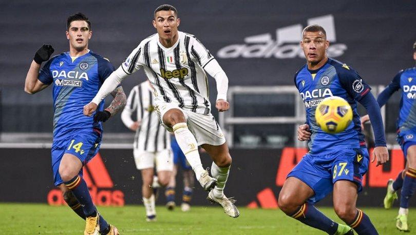 Juventus, Cristiano Ronaldo'nun golleriyle farklı kazandı