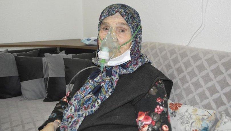 92 yaşında koronavirüsü yendi - Haberler