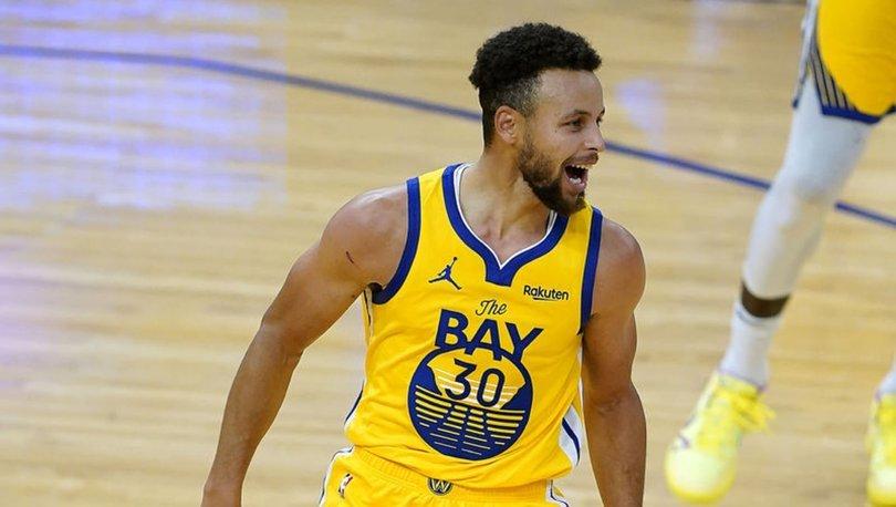 Curry 62 sayıyla kariyer rekoru kırdı, Warriors kazandı