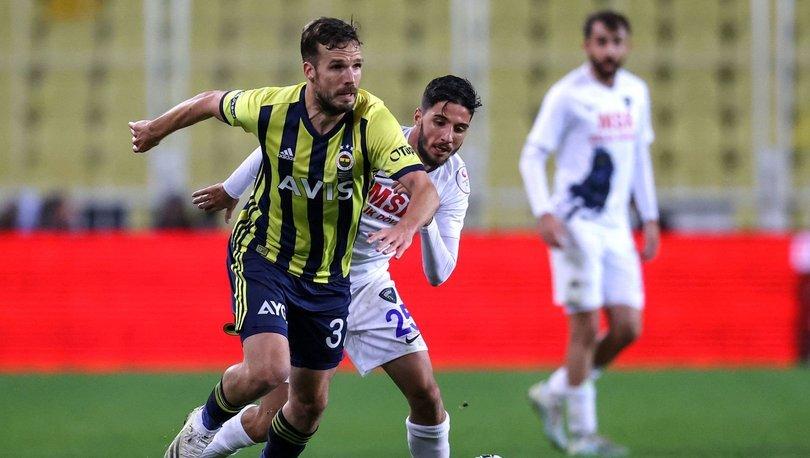 Son dakika haberi: Fenerbahçe'de Novak kadroya alınmadı! 4 değişiklik...