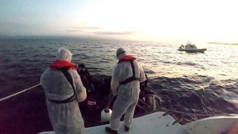 Muğla'nın Bodrum ilçesi açıklarında 34 düzensiz göçmen kurtarıldı