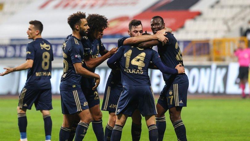 Kasımpaşa: 0 - Fenerbahçe: 3   MAÇ SONUCU