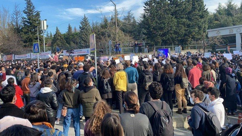 Boğaziçi Üniversitesi Rektörü Melih Bulu protesto edildi!