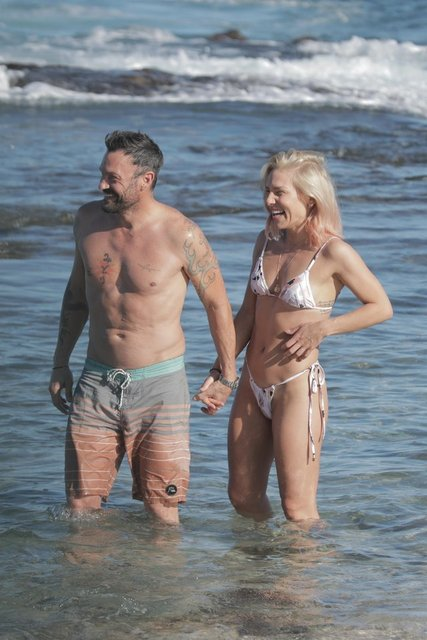 Brian Austin Green ile Sharna Burgess'ın romantik tatili - Magazin haberleri