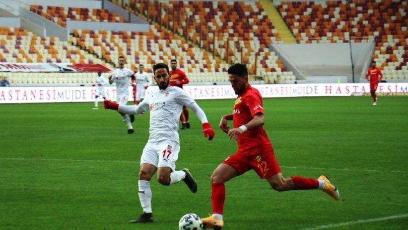 Yeni Malatyaspor: 2 - Sivasspor: 2   MAÇ SONUCU